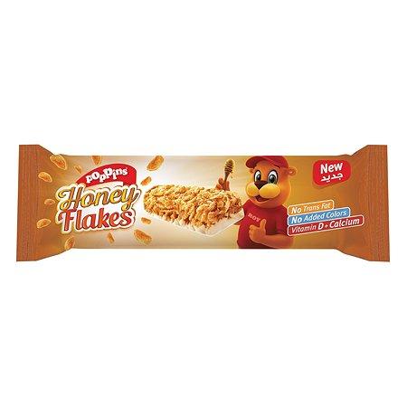 Батончик Poppins Honey Flakes злаковый с белым шоколадом и медом 25г с 3лет