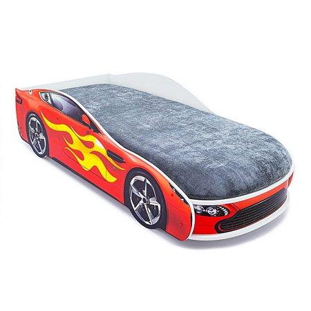 Кровать-машина Бельмарко Бондмобиль Красный