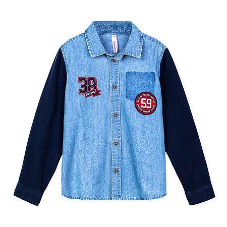 Рубашка PlayToday синяя