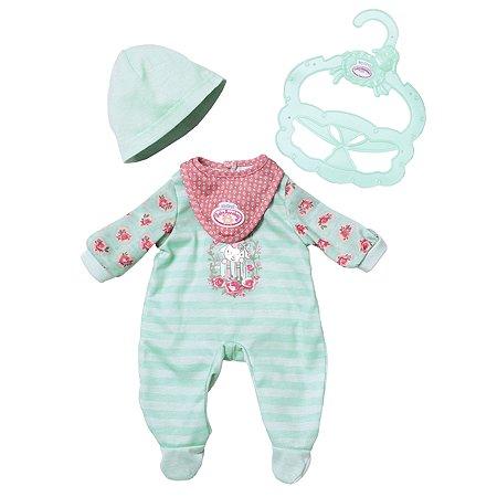 Аксессуары для кукол Zapf Creation My first Baby Annabell Одежда Зеленый 700-587G