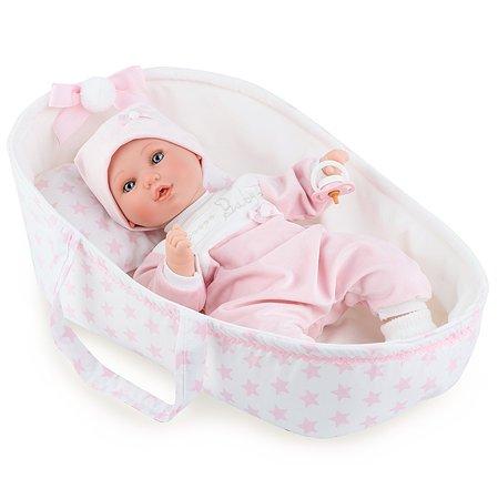 Кукла MARINA & PAU с переноской Розовый 413