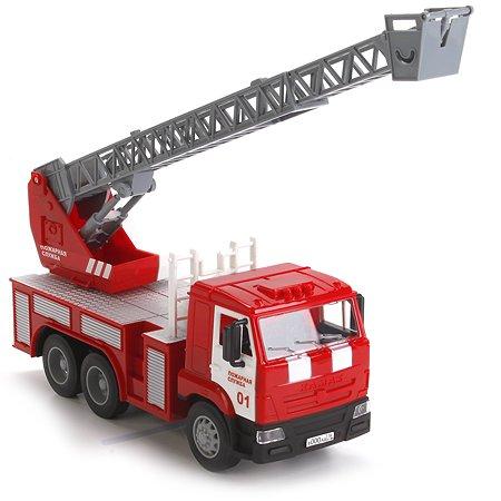 Машина пожарная Технопарк Камаз 25 см (свет/звук)