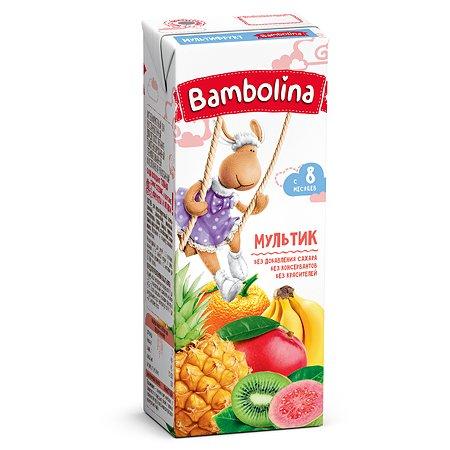 Сок Bambolina мультифруктовый 200мл с 8месяцев