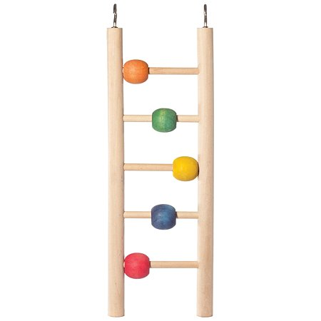 Игрушка для птиц Triol Лестница с шариками 52171047