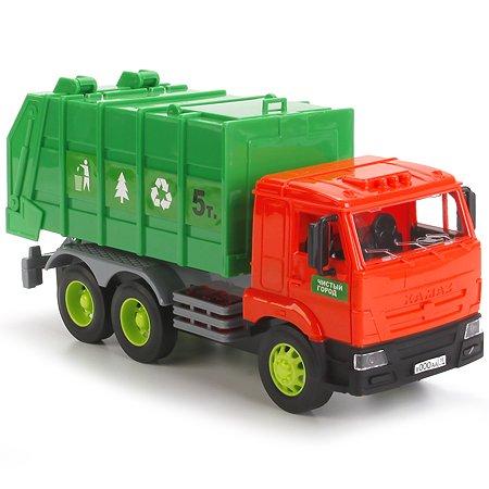 Машина мусоровоз Технопарк Камаз 25 см (свет/звук)