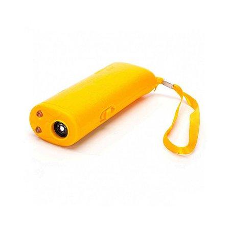 Брелок- отпугиватель для собак Ripoma Ультразвуковой с функцией тренировки желтый Ripoma