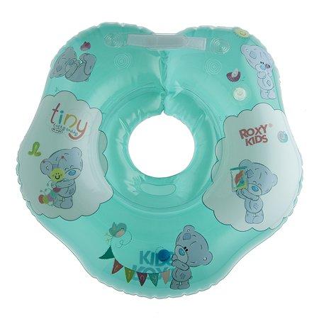 Круг на шею ROXY-KIDS Kids для купания малышей надувной Teddy Friends