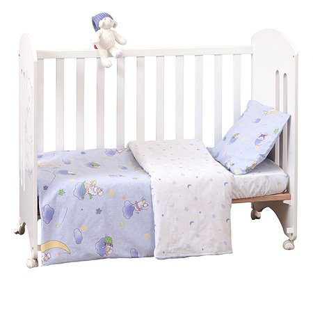 Комплект постельного белья MIRAROSSI Ninna Nanna Blue