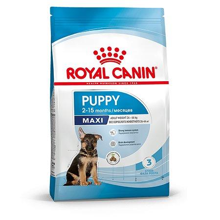 Корм для щенков ROYAL CANIN Maxi Puppy 3кг