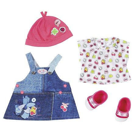 Одежда для кукол Zapf Creation Baby born Джинсовая коллекция Платье 824-498D