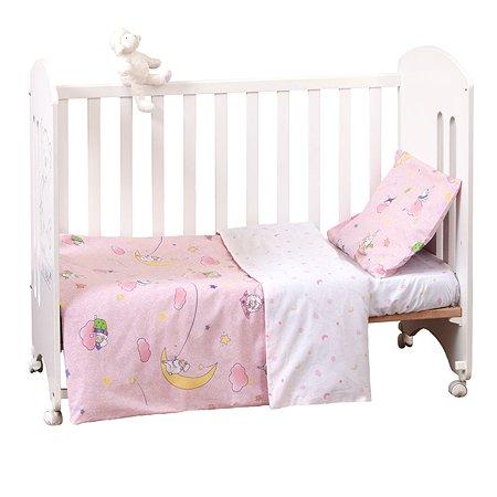 Комплект постельного белья MIRAROSSI Ninna Nanna Pink