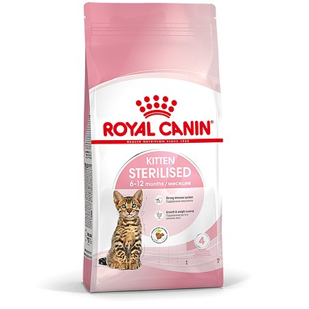 Корм сухой для котят ROYAL CANIN Sterilised 3.5кг стерилизованных