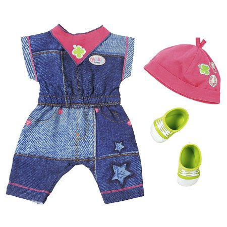 Одежда для кукол Zapf Creation Baby born Джинсовая коллекция Брюки 824-498T