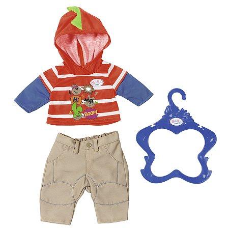 Одежда для кукол Zapf Creation Baby born для мальчика Бежевая 824-535B