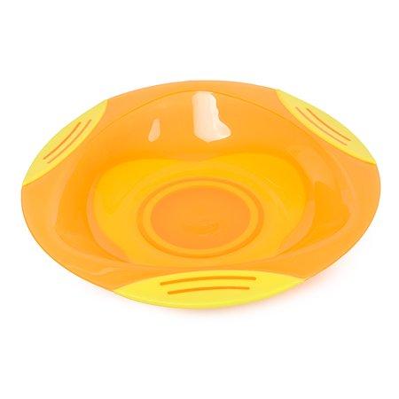 Тарелка Baby Go на присоске Orange D1-0200