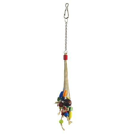 Игрушка для птиц Triol Бусины на веревочке 52171022