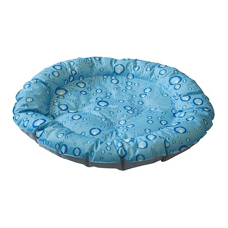 Лежак для животных Nobby Bubble охлаждающий Серо-Голубой