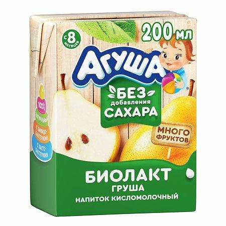 Биолакт Агуша груша 2.9% 200г с 8месяцев