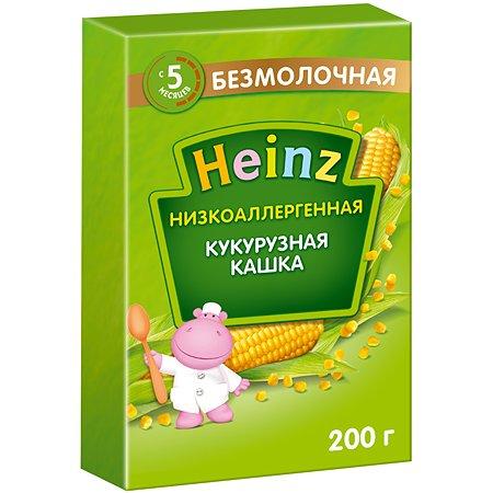 Каша Heinz безмолочная низкоаллергенная кукуруза 200 г с 5 месяцев