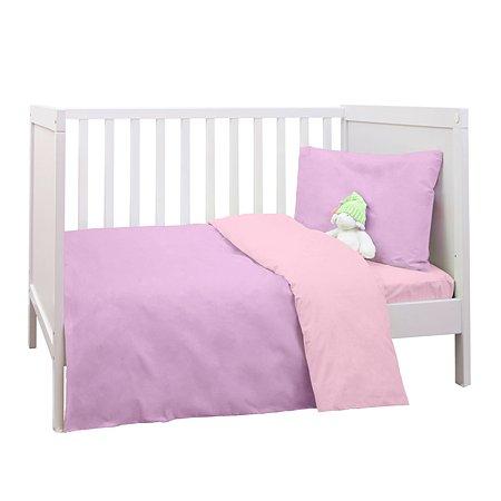 Комплект постельного белья MIRAROSSI Ninna Nanna Viola