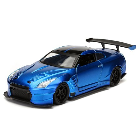 Машинка Fast and Furious Jada 1:32 2009 Nissan Ben Sopra Gt-R R35-Free Rolling 98270