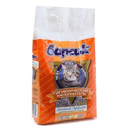 Наполнитель для кошек Барсик Эффект впитывающий 4.54л