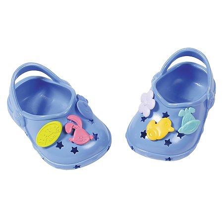Аксессуары для кукол Zapf Creation Baby born Сандали фантазийные Синие 824-597B
