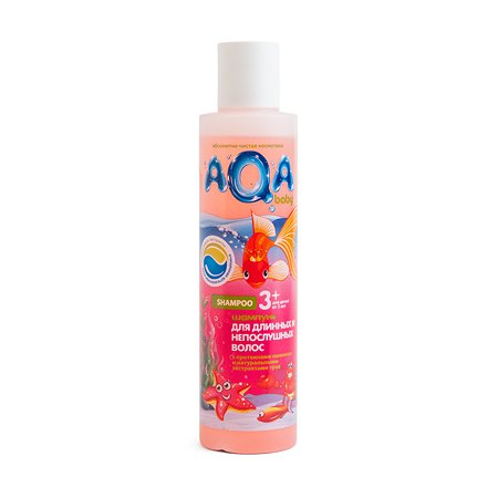 Шампунь AQA baby для длинных и непослушных волос 210 мл