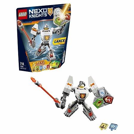 Конструктор LEGO Nexo Knights Боевые доспехи Ланса (70366)