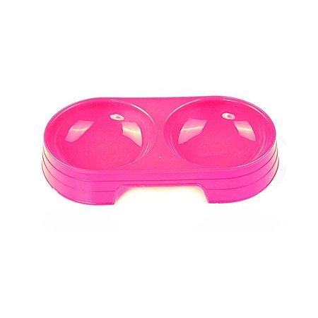 Двойная миска для животных Ripoma розовая Ripoma