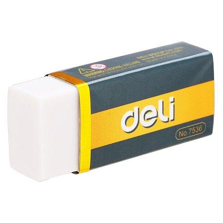 Ластик Deli E7536, белый
