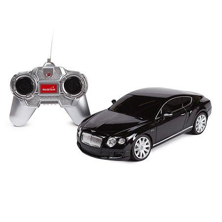 Машинка радиоуправляемая Rastar Bentley Contin.GT 1:24 черная