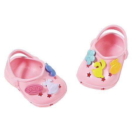 Аксессуары для кукол Zapf Creation Baby born Сандали фантазийные Светло-розовые 824-597L
