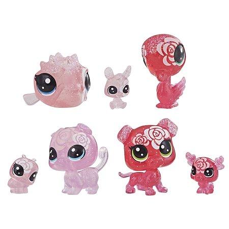 Набор игровой Littlest Pet Shop 7 цветочных петов Роза E5162EU4