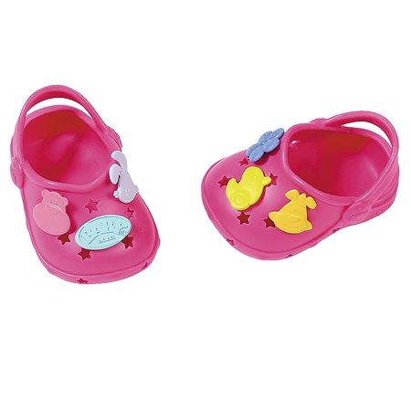 Аксессуары для кукол Zapf Creation Baby born Сандали фантазийные Розовые 824-597P