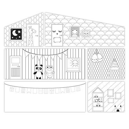 Аксессуары для домика Lundby Обои креатив 4предмета LB_60906000