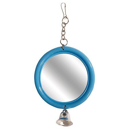 Игрушка для птиц Triol Зеркало с колокольчиком 52181045