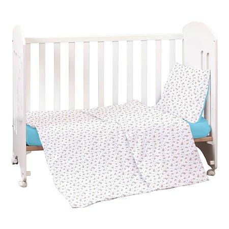 Комплект постельного белья MIRAROSSI Ninna Nanna Astronomi Blue