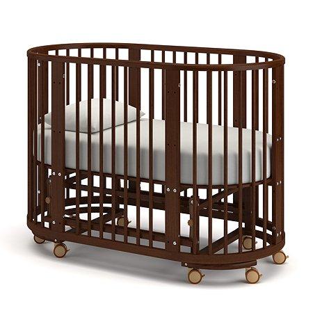 Кровать Гандылян Бетти с маятником Орех