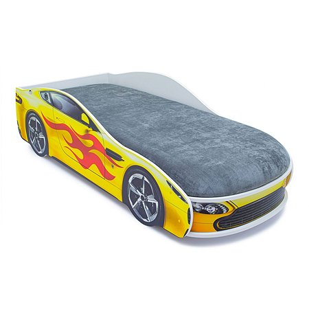 Кровать-машина Бельмарко Бондмобиль Желтый