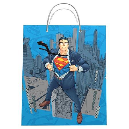 Пакет подарочный ND PLAY Superman 33*40*15 см 292325