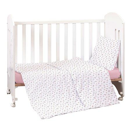 Комплект постельного белья MIRAROSSI Ninna Nanna Astronomi Pink