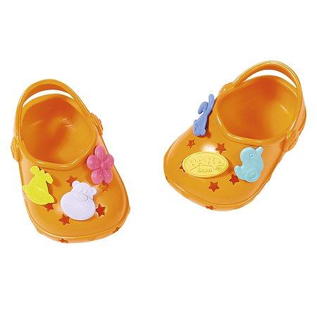 Аксессуары для кукол Zapf Creation Baby born Сандали фантазийные Оранжевые 824-597O