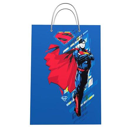 Пакет подарочный ND PLAY Superman 25*35*10 см 292328