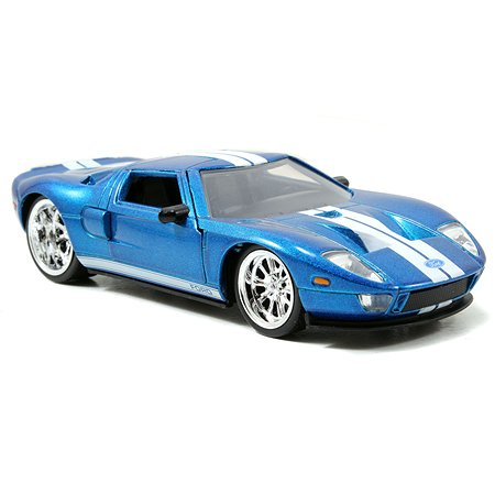 Машинка Fast and Furious Jada 1:32 2005 Ford GT-Free Rolling 97204