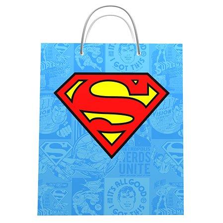 Пакет подарочный ND PLAY Superman 33*40*15 см 292337