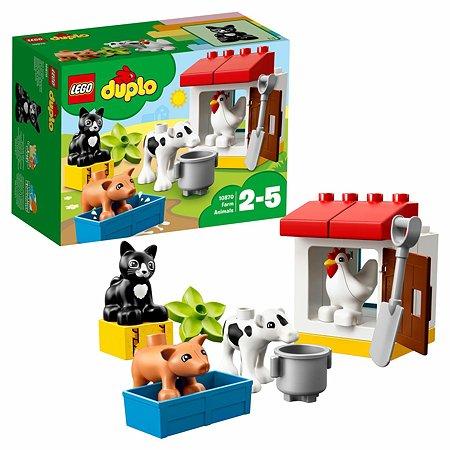 Конструктор LEGO Ферма: домашние животные DUPLO Town (10870)
