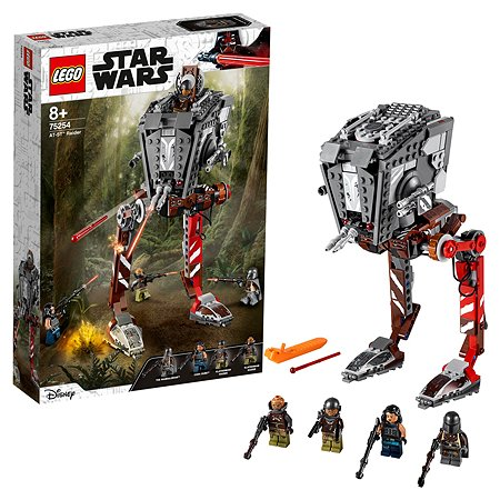Конструктор LEGO Star Wars Episode IX Диверсионный AT-ST 75254