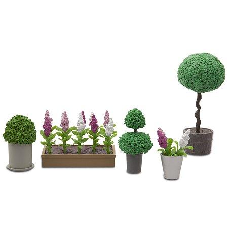 Аксессуары для домика Lundby Стокгольм Цветы в горшках 5предметов LB_60905500