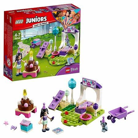 Конструктор LEGO Вечеринка Эммы для питомцев Juniors (10748)